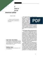 Tobar (2015) Politicas Para Promover Acceso a Medicamentos en América Latina