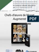 """""""Chefs-d'œuvres de Monet - augmenté"""" - optimisé pour mobiles"""