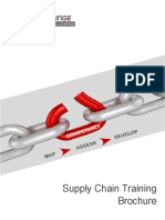 Supply Chain Training Brochure