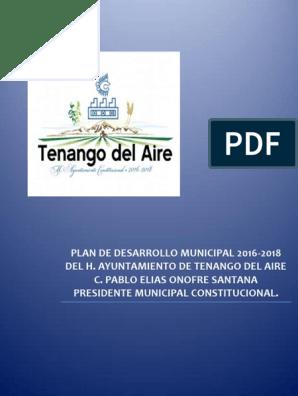 Plan De Desarrollo Municipal índice De Desarrollo Humano