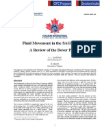 Fluid Movement in a SAGD Process