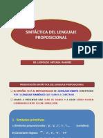 Sintáctica Del Lenguaje Proposicional