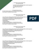 Lista de Útiles Escolares de Quinto Grado 2017-2018.
