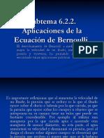 Diapositivas de Bernoulli