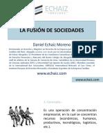 02. La Fusión de Sociedades