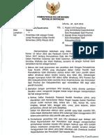 Tindak Lanjut Penetapan DPS