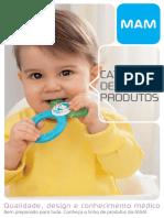 Catálogo de Produtos Mam 2017