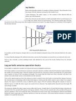 Log Periodic Dipole Array