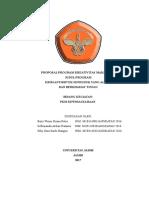Proposal Krim Antiseptik Daun Senduduk Yang Alami Dan Berkhasiat Tinggi[1]
