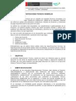 Especificaciones Técnicas Generales Complementad Final