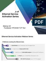 Ethernet Service Activation