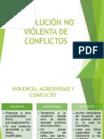 Resolución No Violenta de Conflictos Centro 2014