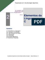 Capitulo 4- Elementos Da Linguagem