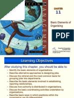 Basic Elements of Organizing