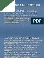 .Psihologia Multimilor I