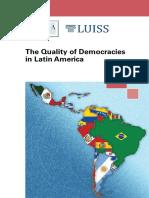 La calidad de las democracias en América Latina