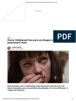 Cinema - Drogas Falsas No Set