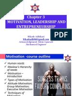3-Motivation, Leadership and Entrepreneurship