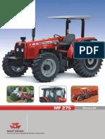 Ficha Tecnica MF 275