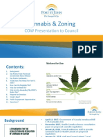 Cannabis zoning presentation to Fort St. John City Council - May 14, 2018