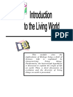 Introduction to the Living World