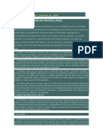 Derecho procesal Penal y relacion con otras ramas del derecho