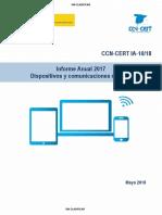 Informe del CNI sobre amenazas en dispositivos móviles