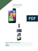 Samsung Galaxy S5 Mini G800