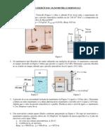 Exercícios de mecânica dos Fluidos (Matéria P1 de fenomenos de transferencia Uerj)