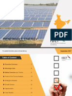 IBEF Renewable Energy September 20171