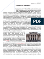 Teorico Siglo Xx, Primera Parte – La Modernidad en Latinoamerica