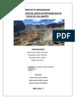 Proyecto Colquijirca Primer Avance Presentado