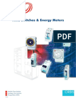 IPD Time Switches & Energy Meters Catalogue 2008