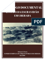 Catálogo Documental Para Estudo Da Escravidão em Uberaba