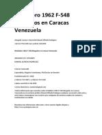 Wuidobro 1962 F-548 Abogados en Caracas Venezuela