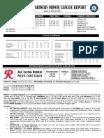 05.11.18 Mariners Minor League Report