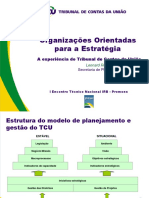 Estudo de Caso Do TCU Organizacoes Orientadas Para a Estrategia