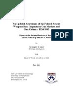 An Updated Assessment of the Federal Assault