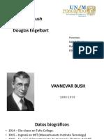 Vannevar Bush y Douglas Engelbart