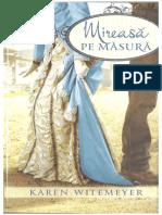Karen Witemeyer Mireasa Pe Masura