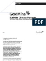 GoldMine Inst Guide