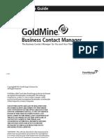 GoldMine Inst Guide