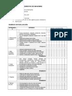 Rubrica Consulta Elementos de Control