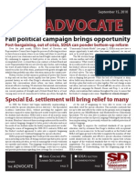 SDEA September 2010 Advocate for Website