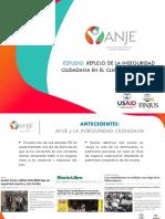 Presentación Estudio Inseguridad Ciudadana ANJE