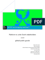 2013 NCDO as Bridging Partner