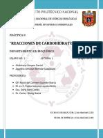 PRACTICA 8 Carbohidratos