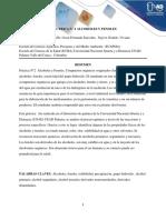 Informe Laboratorio de Química 2