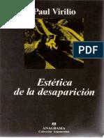 Virilio, Paul - Estética de la desaparición. Anagrama, 1998.pdf