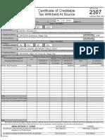 Form 2307_EDSA Branch